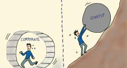 Startup / Corporate ?